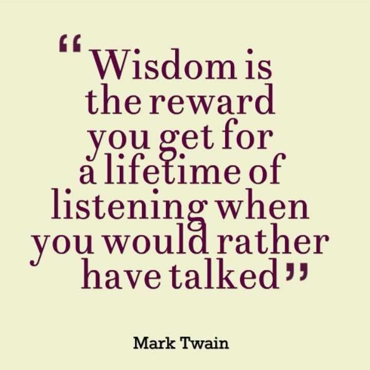 Mark Twain Quotes On Listening. QuotesGram