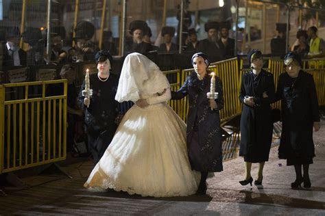 Orthodox Jewish Wedding Of Shalom Rokeach And Hannah Batya