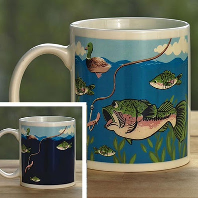 Colour Changing Fish Mug Bits And Pieces