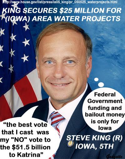 Steve King,( R) Iowa - Asshole