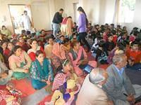 A section of audience during the Sadhana Diwas celebration at VK Shimla