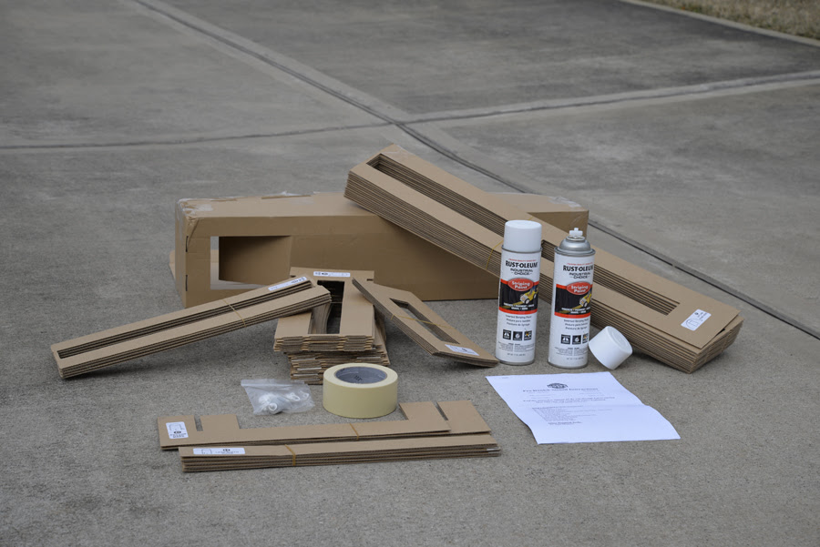 Court Marking Stencil Kit