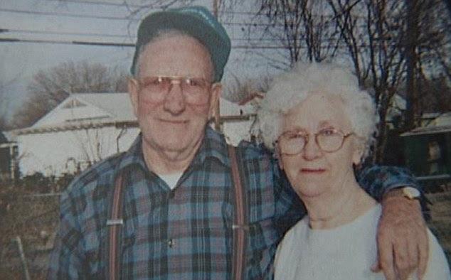 Home invasion: Bob and Nancy Strait were both attacked when burglars broke into their home in Tulsa. Mrs Strait died of her injuries