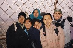 Di Puncak Eiffel Tower, Paris, France