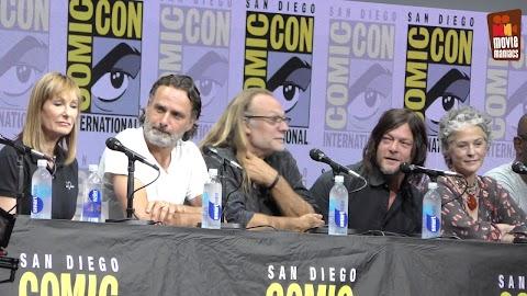 Comic Con Walking Dead Panel 2017