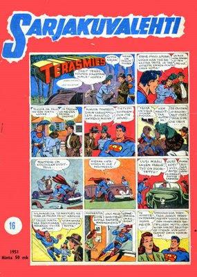 Teräsmies (Superman) ja Sarjakuvalehti 16/1951