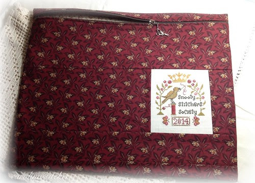 Snooty Stitchers Society project pouch