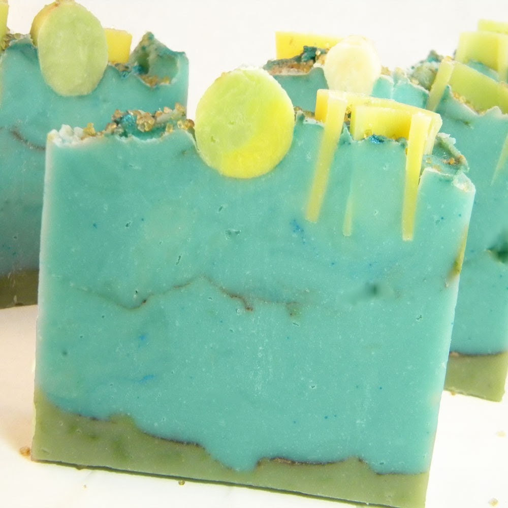 LE Blue Bamboo Handmade Artisan Cold Process Soap by SV.Soaps