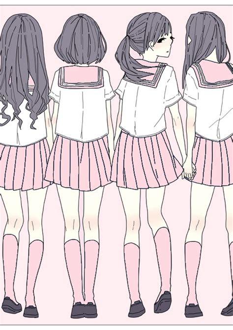 allthingspink pink anime art art illustration art