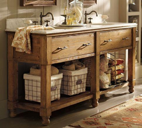 William Double Sink Console | Pottery Barn