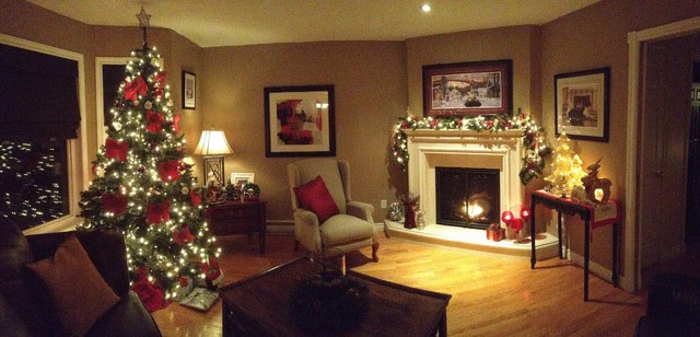 christmas decorating 2012 - Traditional - Living Room - Other