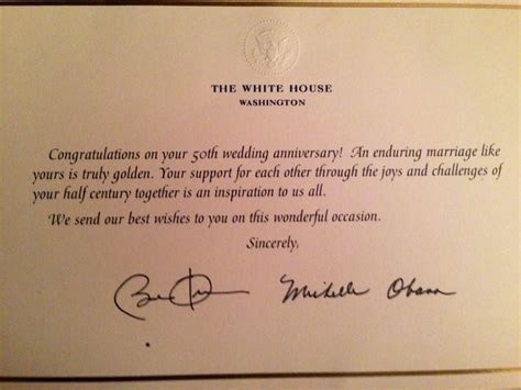 Mail invitations to President and First Lady Obama, your