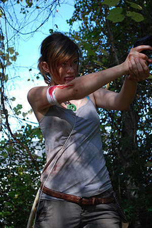 Lara Croft 'Survivor' cosplay by LadySnip3r.