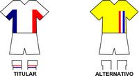 Uniforme Selección Rosarina de Fútbol