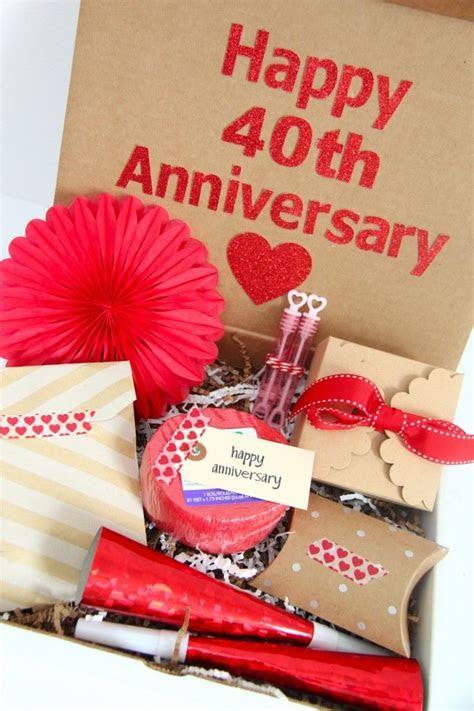 Happy 40th Anniversary Gift Idea     GIVE     40th