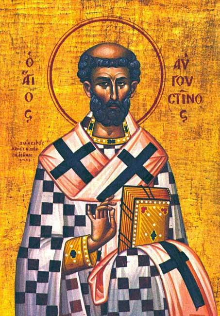 IMG ST. AUGUSTINE, Confessor, Bishop of Hippo