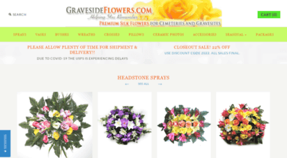 Welcome To Gravesideflowers Com Graveside Flowers Artificial Flower Arrangements For Cemeteries