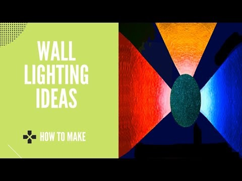 How To Make Wall Decoration Light - Wall Decoration Ideas