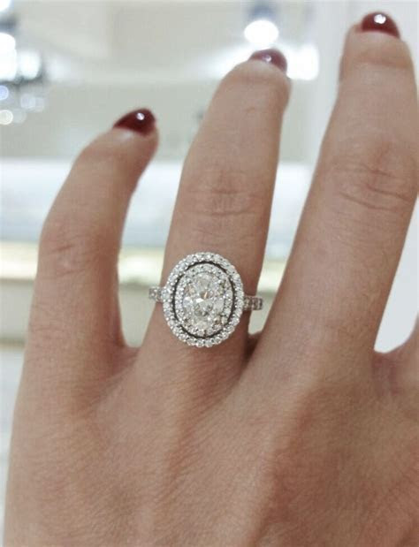 25  cute Double halo engagement ring ideas on Pinterest