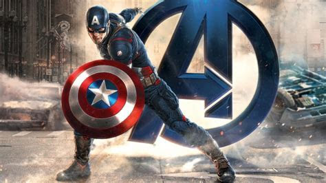 Full HD Wallpaper captain america comics art avengers