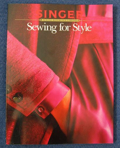 Singer sewing for style cover