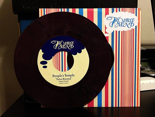 "People's Temple - Brand New Thing 7"" - Purple Vinyl (/500) by Tim PopKid"