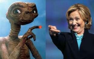 hillary clinton et ufo alieni