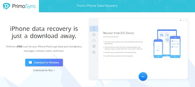 Recovering iPhone Data Using Primo iPhone Data Recovery App