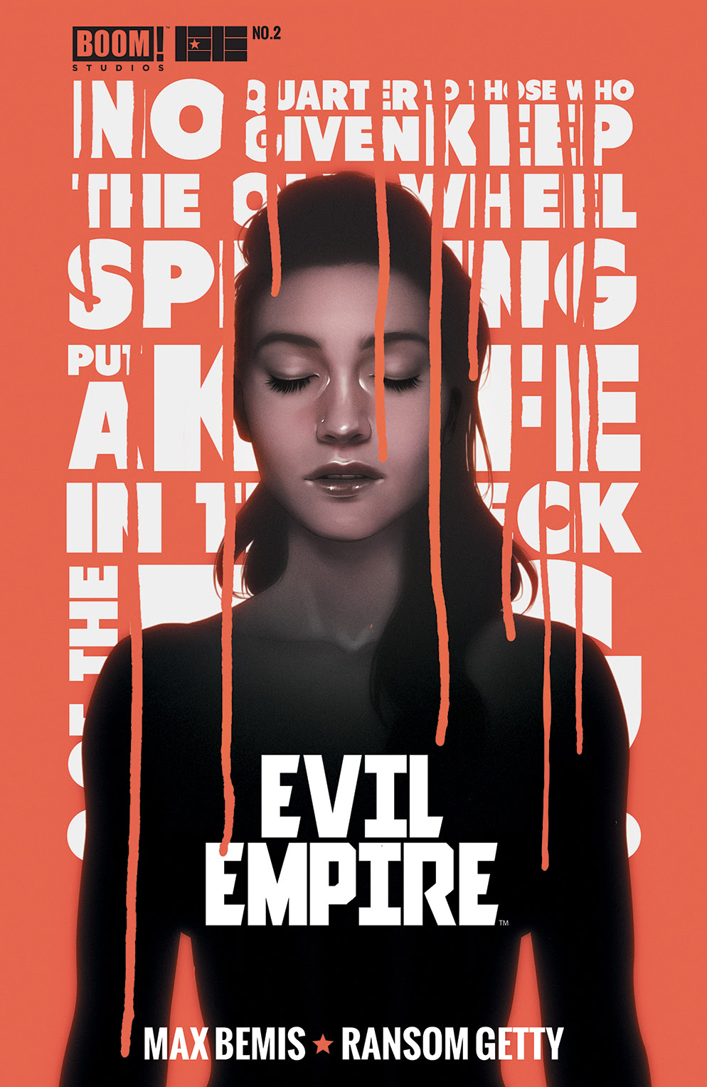 Evil Empire #2 Cover 2nd Print