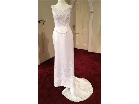Alfred Angelo 1918 off the shoulder, destination, , $124