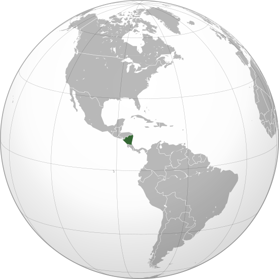 File:Nicaragua (orthographic projection).svg