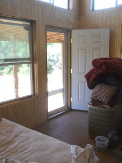 Bedroom Screen Door from Inside