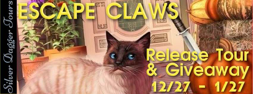 Book Tour & Giveaway: Escape Claws