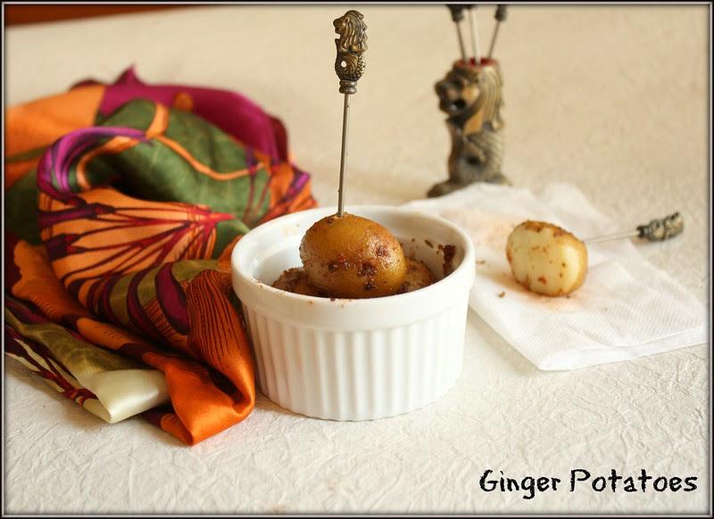 ginger potatoes