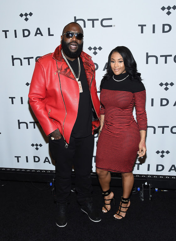 NEW YORK, NY - OCTOBER 20: Rick Ross attends TIDAL X: 1020 at Barclays Center on October 20, 2015 in the Brooklyn borough of New York City. (Photo by Ilya S. Savenok/Getty Images)