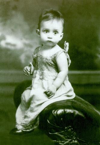 Gabriel García Márquezas a baby