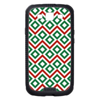Christmas Meander Samsung Galaxy S3 Cases