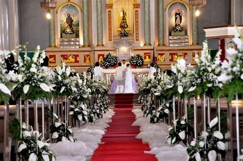 For christian weddings: 7 best Church wedding decoration