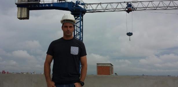 Marcos Daniel é sócio-proprietário de uma construtora na cidade de Passo Fundo