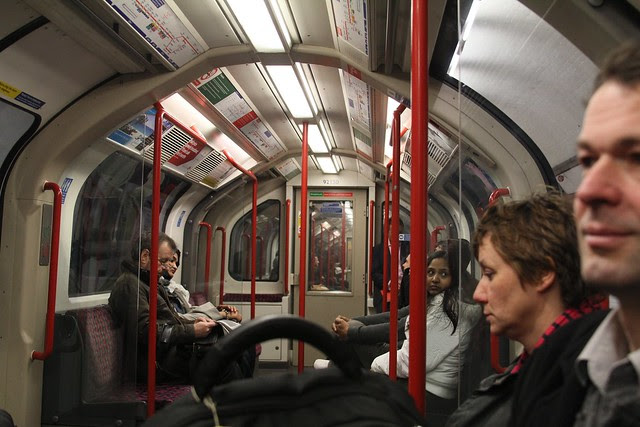 The metro in London