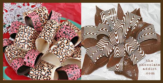 Cake Decorations. Chocolate Bows? Shut up! | Chocolate Romp