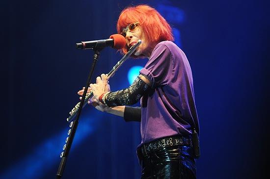 Show da cantora Rita Lee realizado neste sábado em Sergipe