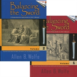 Balancing the Sword Bible Study Set - Exodus Books