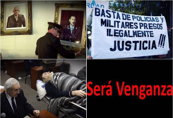 El documental Será Venganza, dirigido por Andrés Paternostro,recopila testimonios de represores, familiares, exjueces y médicos que reivindican el terrorismo de Estado.