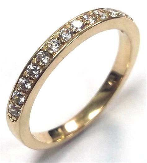 0.22 Traditional Bridal 14K Yellow Gold Wedding Band with