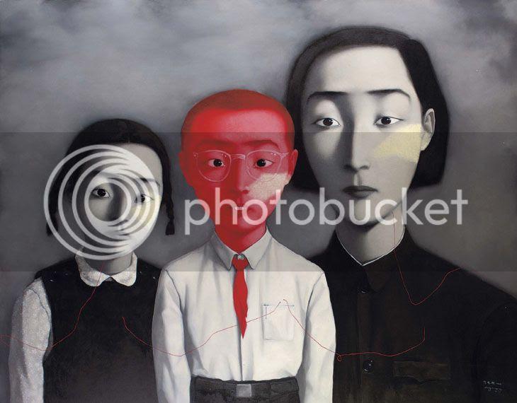 Zhang Xiaogang famille Chine