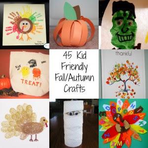 DIY Fall/Autumn Kid Crafts