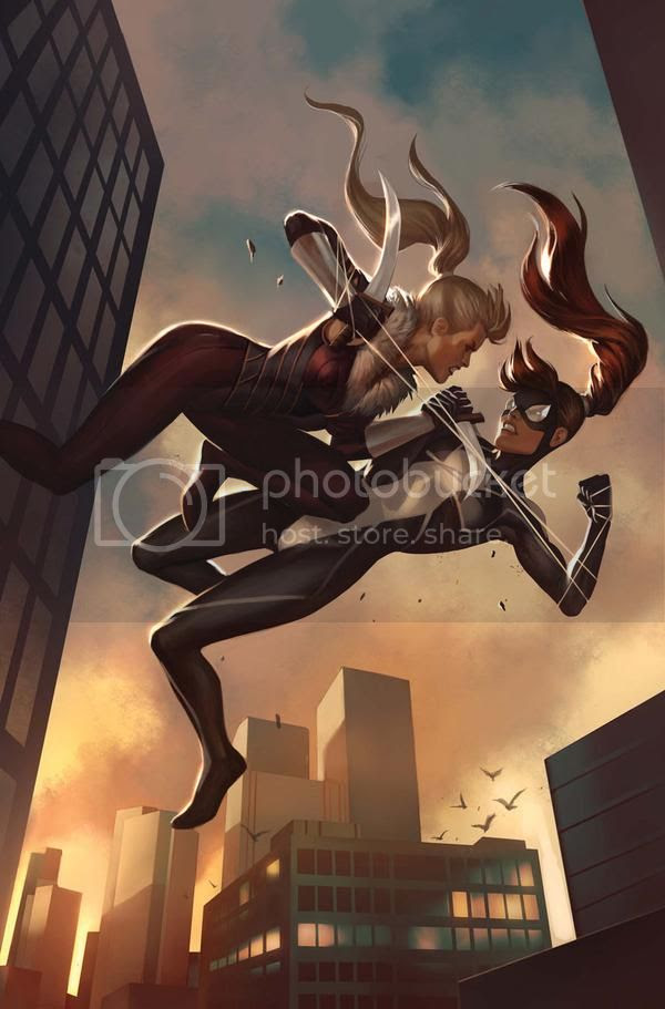 Garota-Aranha