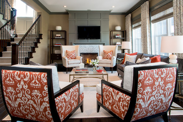 Hospital Home Lottery Fall 2012 - contemporary - living room
