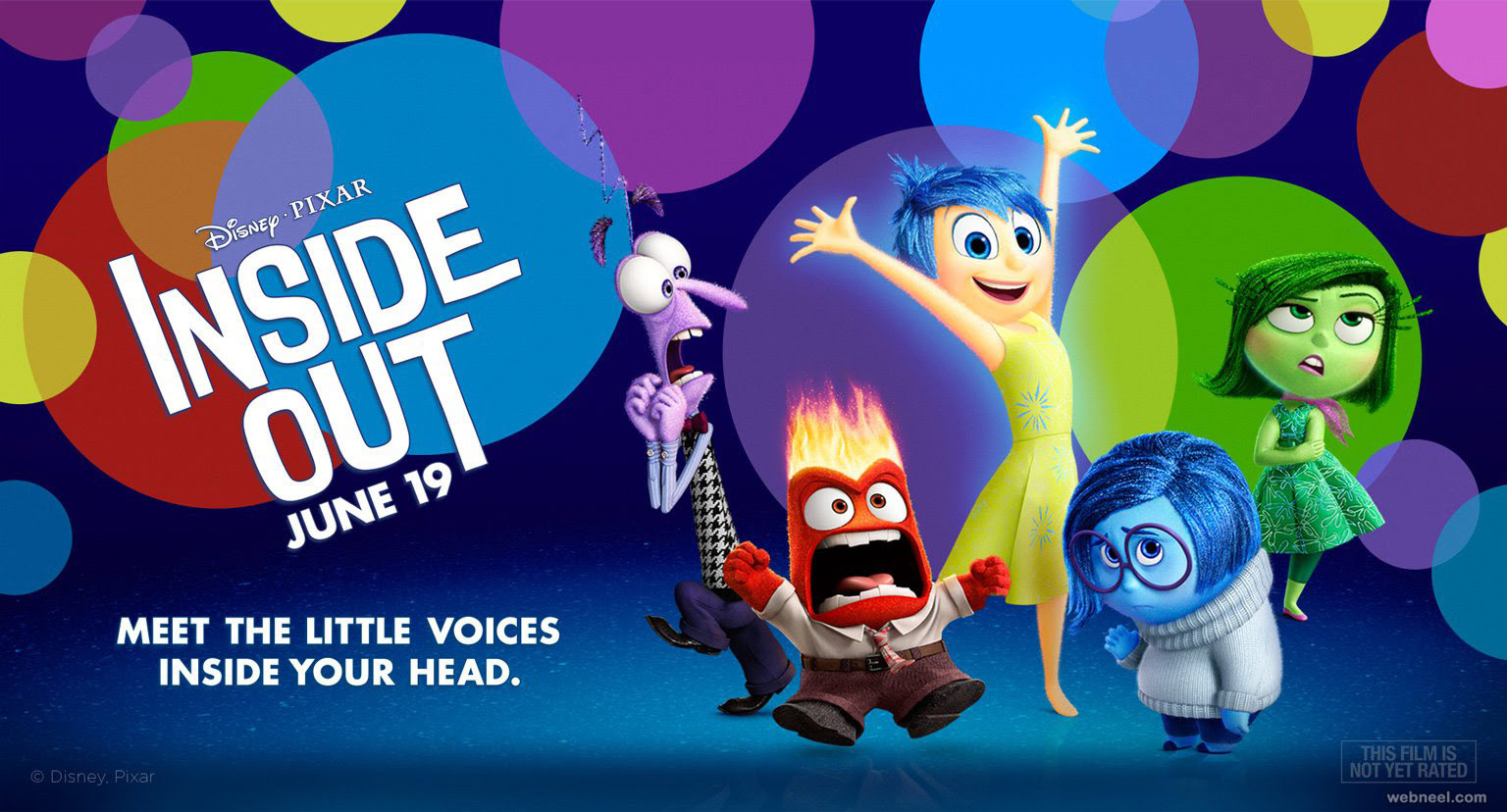 Image result for inside out movie poster